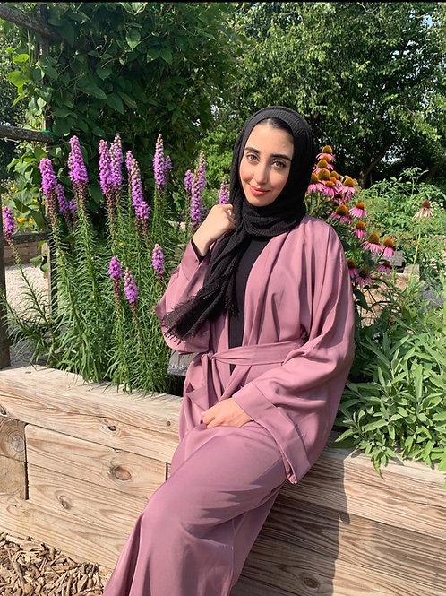 Rose Gold Abaya