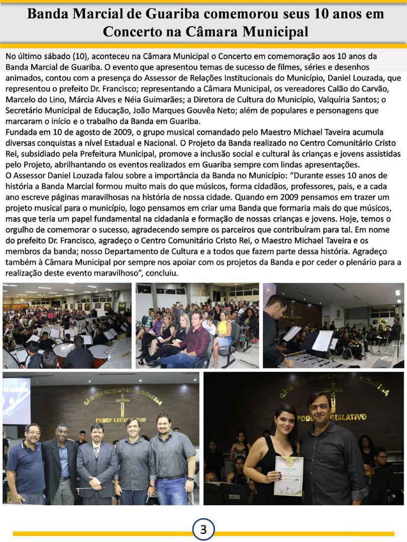 Informativo Semanal - Prefeitura de Guar
