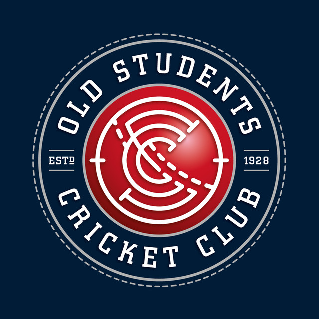 Old Students Cricket Club Re-brand