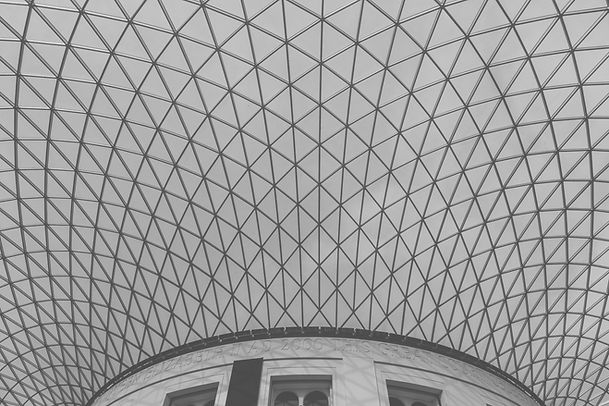 black-and-white-building-roof-architectu