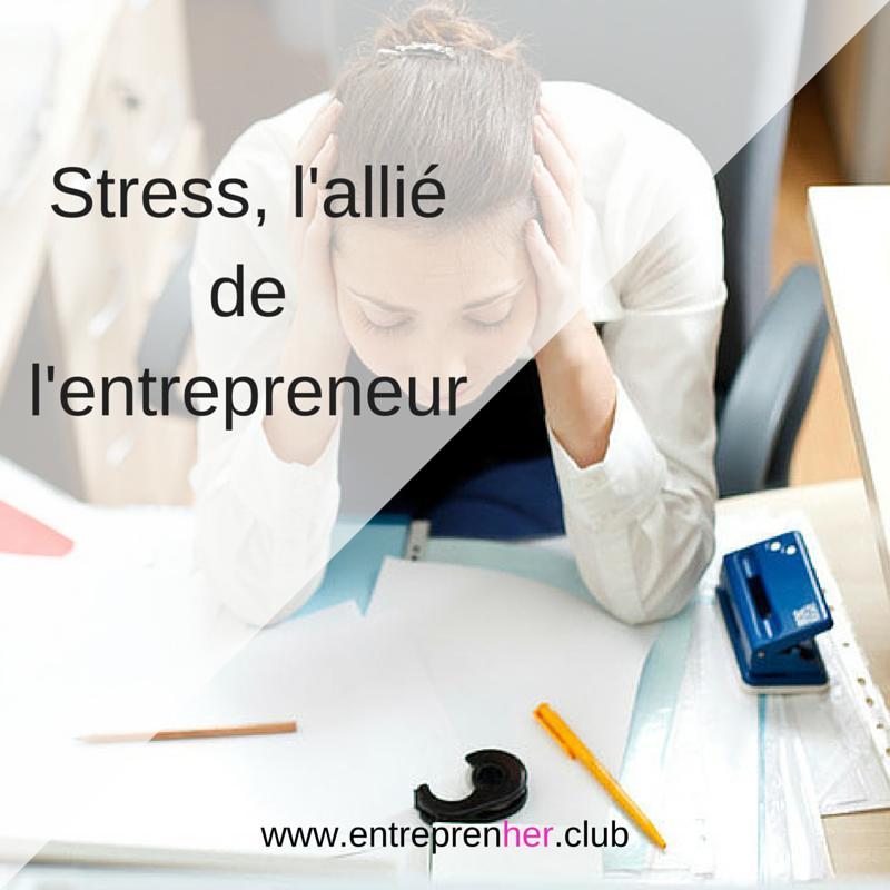le stress de l'entrepreneur