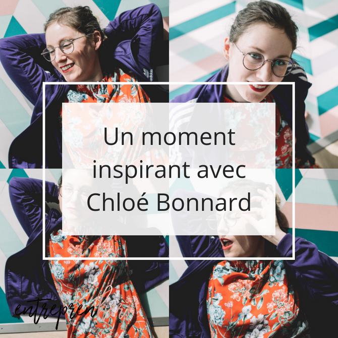 Un moment inspirant avec Chloé Bonnard