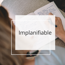 Implanifiable