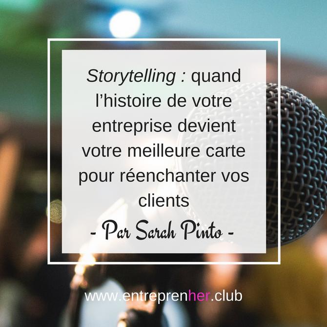 Storytelling : quand l'histoire de votre entreprise devient votre meilleure carte pour réenchanter v