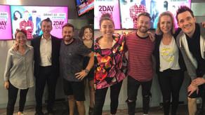 2Day FM Breakfast: Professor Jason Abbott & Ambassador Julie Snook