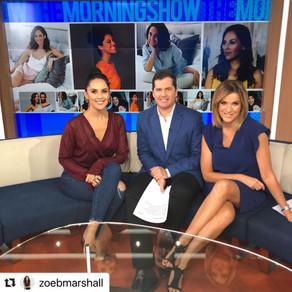 Ambassador Zoe Marshall on The Morning Show with Ryan Phelan and Kylie Gilles