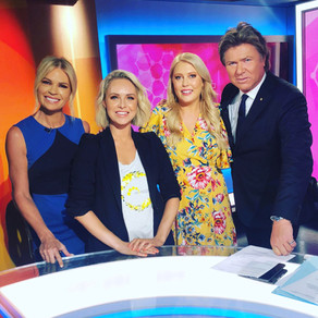 Ambassadors Julie Snook & Mel Greig on Channel 9's Today Extra with Richard Wilkins & Sonia Kruger