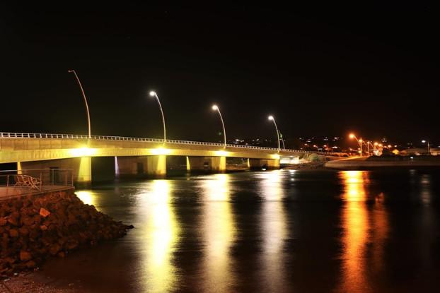 The Ulverstone Bridge, Tasmania