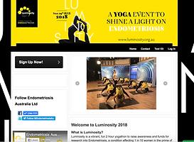 Team Luminosity Registration Page