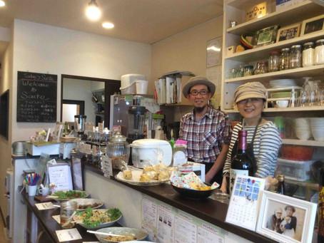 神奈川:5月18日&19日Cafe Sante(ベジフォークマーケットにて)