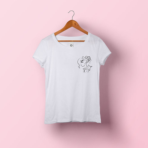 T-shirt femme - Catherine coeur