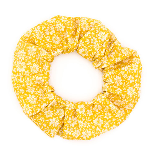 Chouchou fleuri moutarde