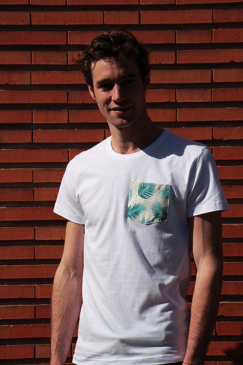 T-shirt poche - Palm