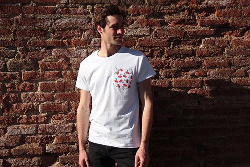 T-shirt poche - Cherry