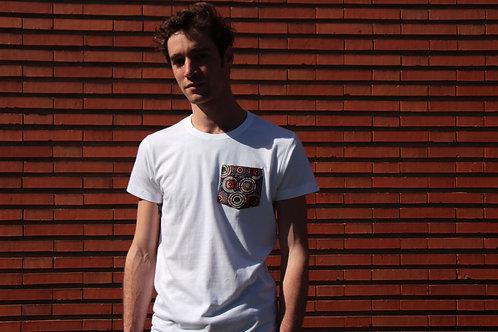 T-shirt poche - Blue Mali