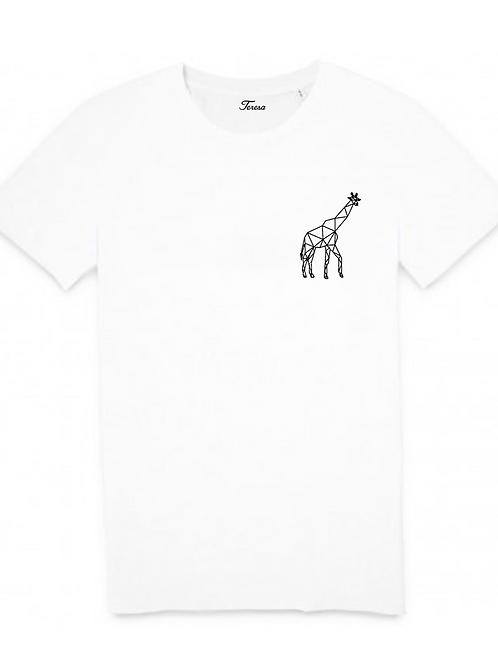 T-shirt - Girafe coeur
