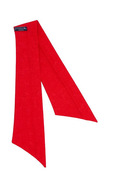 Bandeau rouge Garance uni