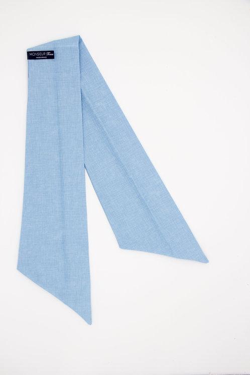 Bandeau bleu pervenche uni
