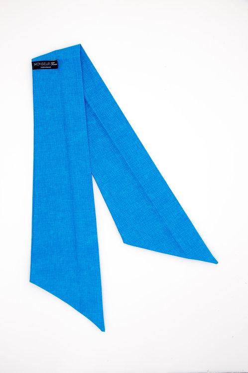 Bandeau bleu de France uni
