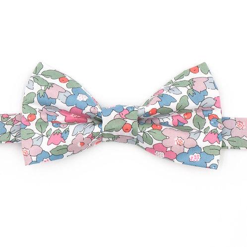 Noeud papillon Liberty fabrics - Besty Berry pastel