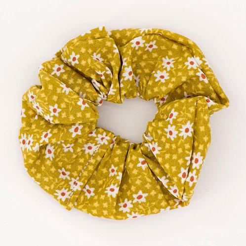 Chouchou fleuri jaune blé