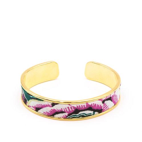 Bracelet laiton doré - Flowers of Southampton