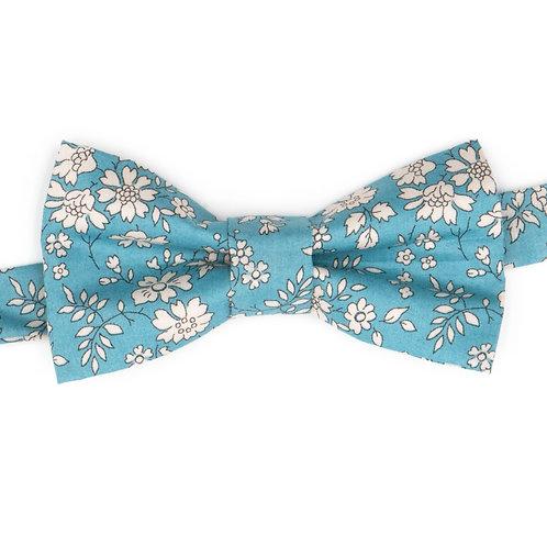 Noeud papillon Liberty fabrics - Capel bleu