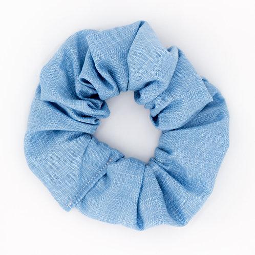 Chouchou bleu pervenche uni