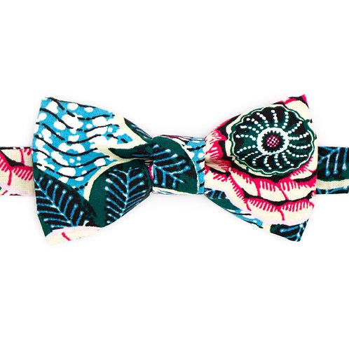 Noeud papillon motifs Fleuri Bristol