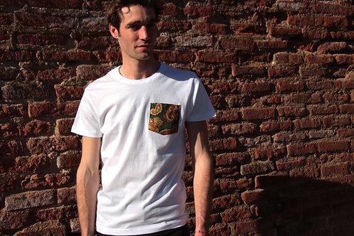 T-shirt poche - Green Cashmere