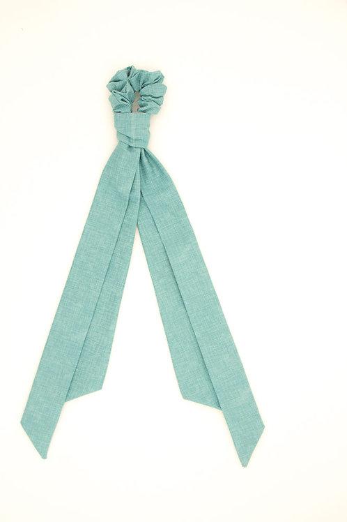 Foulchie bleu Tiffany uni