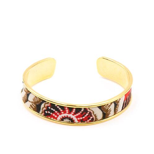 Bracelet laiton doré - Flowers of London