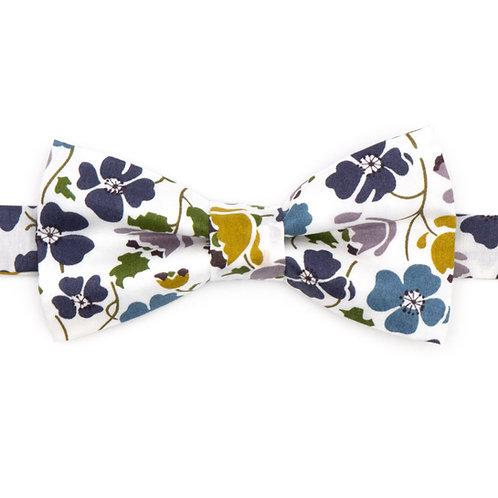 Noeud papillon Liberty fabrics - Edie Blue