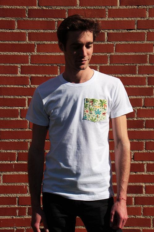 T-shirt poche - Crazy Monkeys