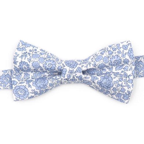 Noeud papillon Liberty fabrics - Bleu Danjo Coast