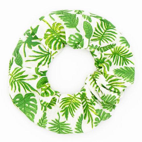 Chouchou motifs Green palm