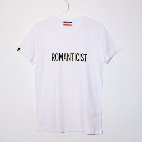 T-shirt - ROMANTICIST - Blanc unisexe
