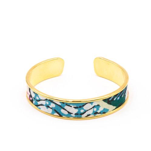 Bracelet laiton doré - Flowers of Bristol