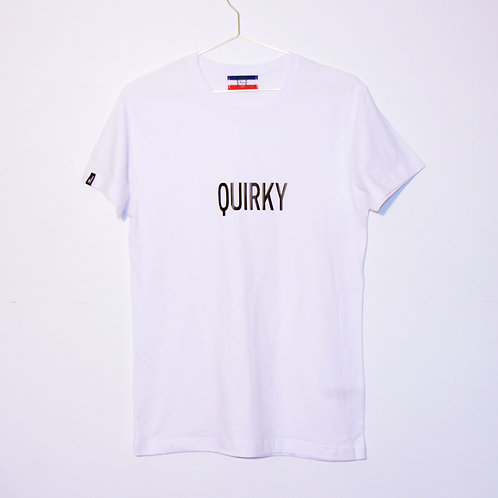 T-shirt - QUIRKY - Blanc unisexe