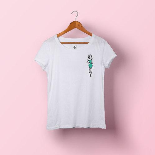 T-shirt femme - Anne coeur
