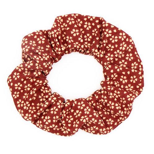 Chouchou fleuri chocolat