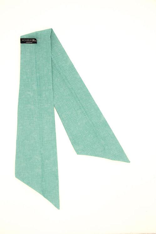Bandeau bleu Tiffany uni