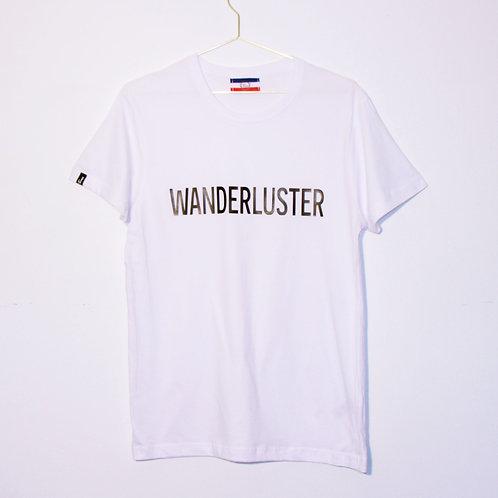 T-shirt - WANDERLUSTER - Blanc unisexe