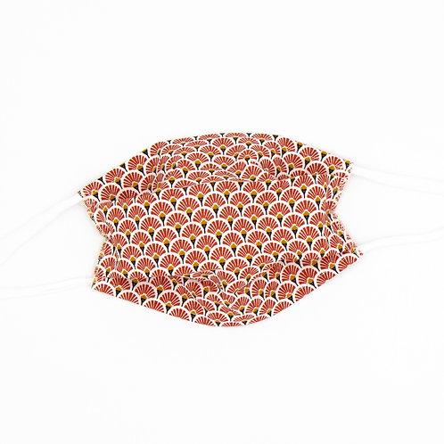 Masque en tissu à plis Pretoria - normes AFNOR