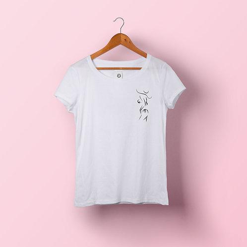 T-shirt femme - Roxanne coeur