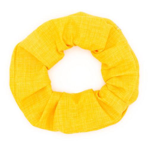 Chouchou jaune or uni