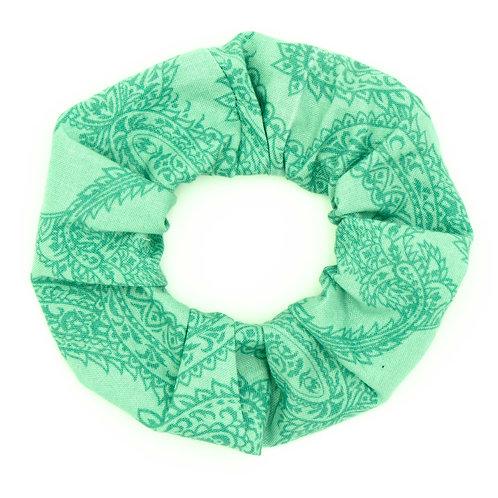 Chouchou fantaisie green cashmere