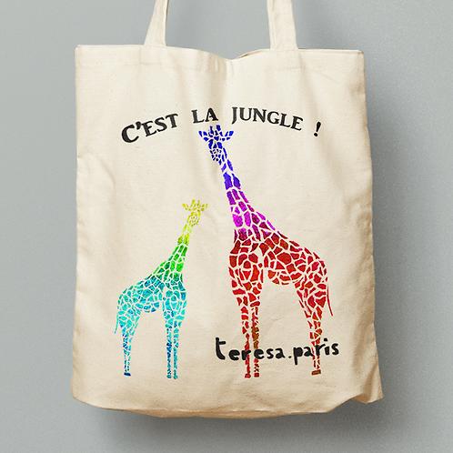 Tote bag - Girafes