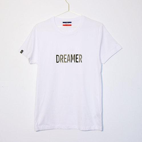 T-shirt - DREAMER - Blanc unisexe