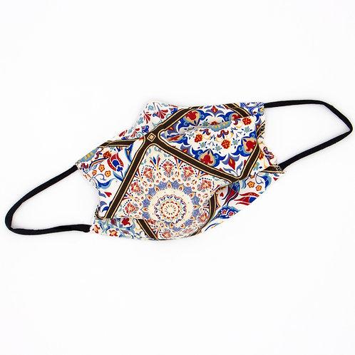 Masque en tissu à plis Essaouira - normes AFNOR